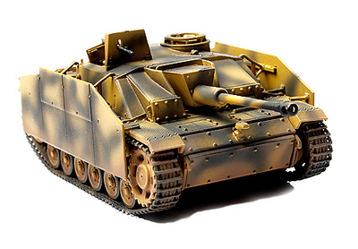 German Sturmgesschultz III Ausf. G,  Normandy, 1944, 1:72, Forces of Valor