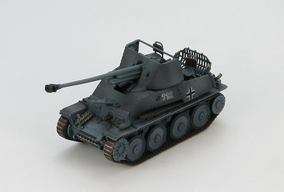 German Tank Destroyer Marder III No. 112, 49th Panzerjager Abteilung, 4th Panzer Division, Eastern Front 1943, 1:72, Hobby Master