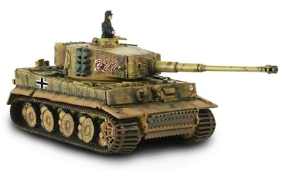 German Tiger I, Normandy, 1:72, Forces of Valor
