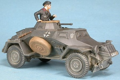 German armoured car Sd.Kfz.221, 1:48, Gasoline