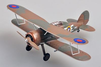 Gladiator Mk.I, 112 Sqn , RAF RT-E, K6135, 1:72, Easy Model