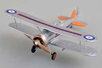 Gladiator Mk.I, 72 Sqn , RAF K6130, 1:72, Easy Model