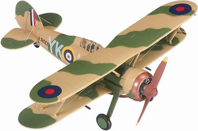 Gloster Gladiator Mk.I - L8009, YK-I, FO Peter Wykeham-Barnes, 1:72, Corgi