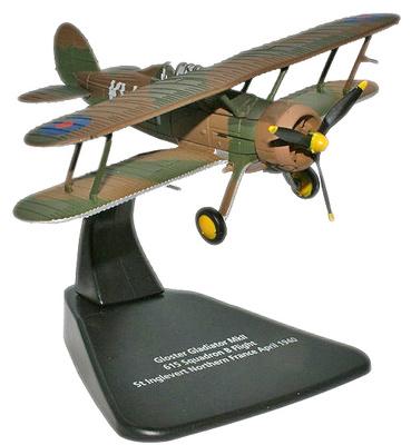 Gloster Gladiator MkII, 615 Squadron, Norte de Francia, Abril, 1940, 1:72, Oxford
