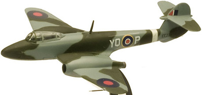 Gloster Meteor F1, UK 1945, 1:100, Italeri