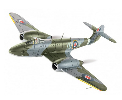 Gloster Meteor F3, EE246 YQ-A, 616 Squadron, Lubeck, 1945, 1:72, Corgi