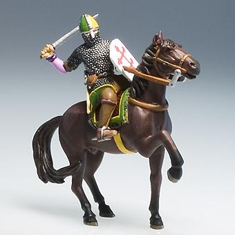 Godofredo de Bouillón, duque de la Baja Lorena, S.XI, Primera Cruzada, 1:32, Altaya