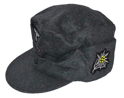 Gorra de los Cazadores de Montaña, Gebirgstruppe, Alemania, 1:1