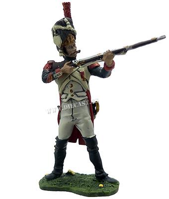 Granadero, 1º Regimiento Granaderos a Pie de la Guardia Imperial, 1812, 1:32, Hobby & Work