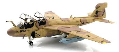 """Grumman EA-6B Prowler 161120, VAQ-133 """"Wizards"""", Bagram Airfield, Afghanistan, 2007, 1:72, Hobby Master"""