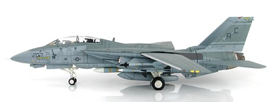 "Grumman F-14A BuNo 159610, VF-32, Incidente del Golfo de Sidra, ""MIG Killer"", 1989, 1:72, Hobby Master"