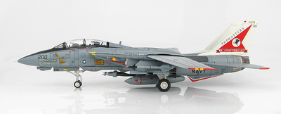 Grumman F-14A Tomcat, 162698, VF-14 Tophatters, 80 Aniversario, 1999, 1:72, Hobby Master