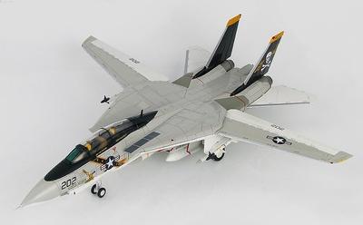 "Grumman F-14A Tomcat 160382/AJ 202, VF-84 ""Jolly Rogers"", USS Nimitz, 1977, 1:72, Hobby Master"