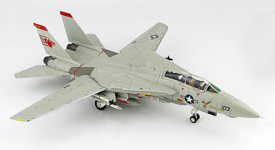 "Grumman F-14A Tomcat 162603, VF-1 ""Wolfpack"", 1991 ""MI-8 Killer"", 1:72, Hobby Master"