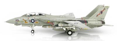 "Grumman F-14A Tomcat 162707, VF-74 ""Be-Devilers"", USS Saratoga, 1987, 1:72, Hobby Master"