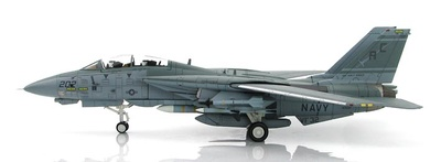 "Grumman F-14A Tomcat BuNo 159437, VF-32,  Gulf of Sidra Incident, 1989, ""MIG-23 Killer"", 1:72, Hobby Master"