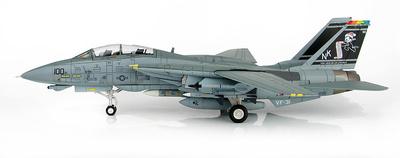 "Grumman F-14D Super Tomcat 164601, VF-31, 2002 ""Santa Tomcatters"", 1:72, Hobby Master"