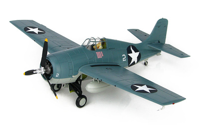 Grumman F4F-4 Wildcat, White 2 of VMF-223, USMC,  Guadalcanal, 1942, 1:48, Hobby Mster