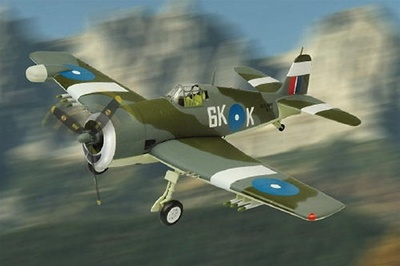 Grumman F6F-5, MK. II Hellcat Night Fighter, 1:48, Franklin Mint