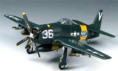 Grumman F8F-1 Bearcat, US Navy Air Reserve Glenview, 1950's, 1:72, SkyMax