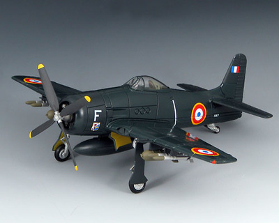 Grumman F8F-1B, French Air Force, 1:72, SkyMax