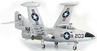 "Grumman F9F-2 ""Jolly Rogers"" Lt. Lawrence Cauble, VF-61, 1:48, Hobby Master"