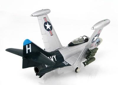 "Grumman F9F-5 ""Blue Tail Fly"" 126652, VF-153, USS Princeton, 1953, 1:48, Hobby Master"