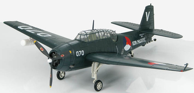 Grumman TBM-3E2, Aviación Naval Holandesa, 1954, 1:72, Hobby Master