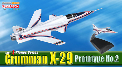 Grumman X-29, Prototype No.2  Phase 2, Test Programme, 1:144, Dragon Wings