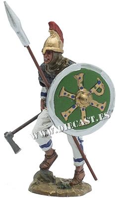 Guardia Bizantino, Imperio Romano Oriental, aprox. año 550, 1:30, Del Prado