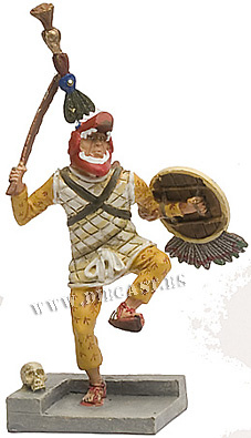 Guerrero Azteca, 1:32, Planeta DeAgostini