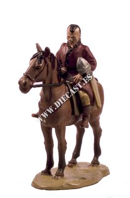 Guerrero Huno a caballo, 1:30, Del Prado