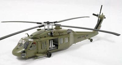 H-60A Blackhawk, 101st Airbourne, US Airforce, 1:72, Easy Model