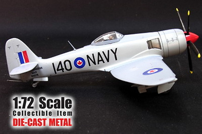 HAWKER SEA FURY, 1953, 1:72, WITTY WINGS