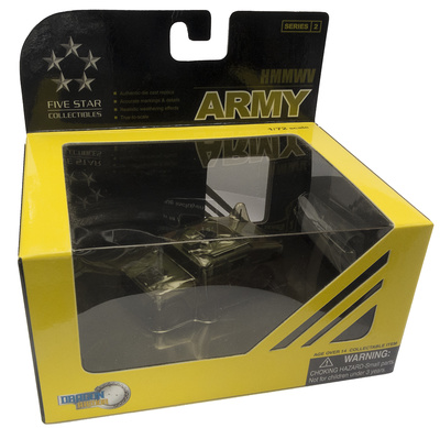 "HMMWV Hummer, US Army, 1st Squadron, 1st Cavalry Regiment ""Iron Star 94"", 1:72, Dragon Armor"