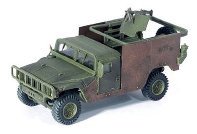 HMMWV M998 Gun Truck, Iraq 2003, 1:72, Dragon Armor