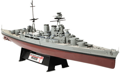HMS Battlecruiser Hood, 1941, 1:700, Forces of Valor