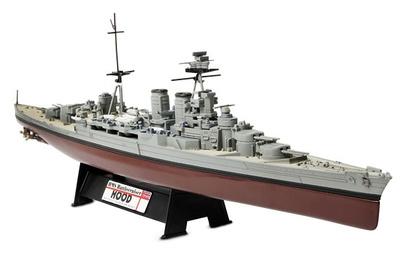 HMS Battlecruiser Hood, Royal Navy, Batalla de Estrecho de Dinamarca, 1941, 1:700, Forces of Valor