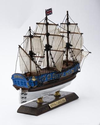 HMY Royal Caroline, 1750 Gran Bretaña, 1:250, De Agostini