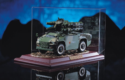 HQ-7 Vehículo con misiles antiaéreo, Ejército Chino, 1:24, Donart