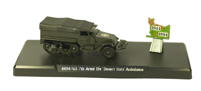 "Half Track Ambulance, 7th Armd. Div.' ""Desert Rats"", D-Day, 1:50, Solido"