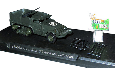 Half Track REME Wksp, 8th Armoured Bde, D-Day, 1:50, Solido