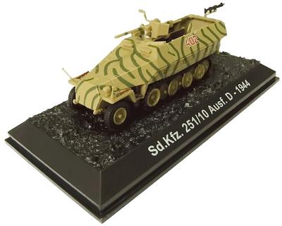 Hanomag Sd.Kfz.251/10 Ausf.D, 1944, 1:72, Amercom