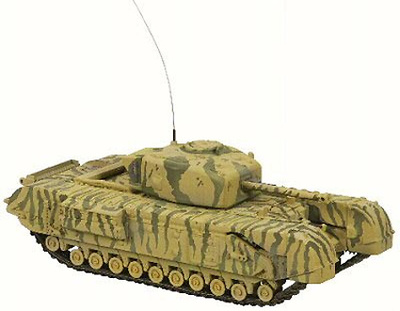 Harland and Wolff Churchill, British Army, Tunisia, 1943, 1:50, Corgi
