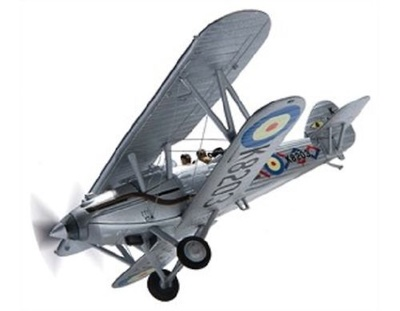 Hawker Demon, G-BTVE, K8203, Old Warden, 2013, 1:72, Corgi