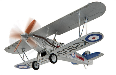 Hawker Demon, K2905, 41 Sqn, C Flight, RAF Northolt, Otoño, 1934, 1:72, Corgi