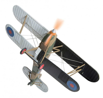 Hawker Fury, 43 Squadron RAF, Munich Crisis, 1938, 1:72, Corgi