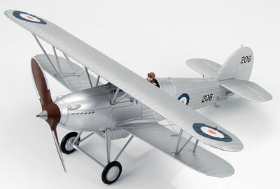 "Hawker Fury I South Africa Air Force, Oct. 1940 ""206"", 1:48, Hobby Master"