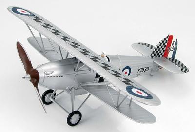 """Hawker Fury I Sqn Leader R H Hanmer, 43 Sqn RAF, 1932 """"K1930"""", 1:48, Hobby Master"""