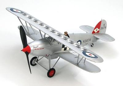 """Hawker Fury Mk. I """"K5674"""" 43 Sqn., RAF, 1930s, 1:48, Hobby Master"""